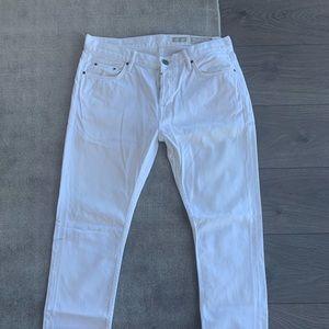 Allsaints White Jeans Cigarette Fit